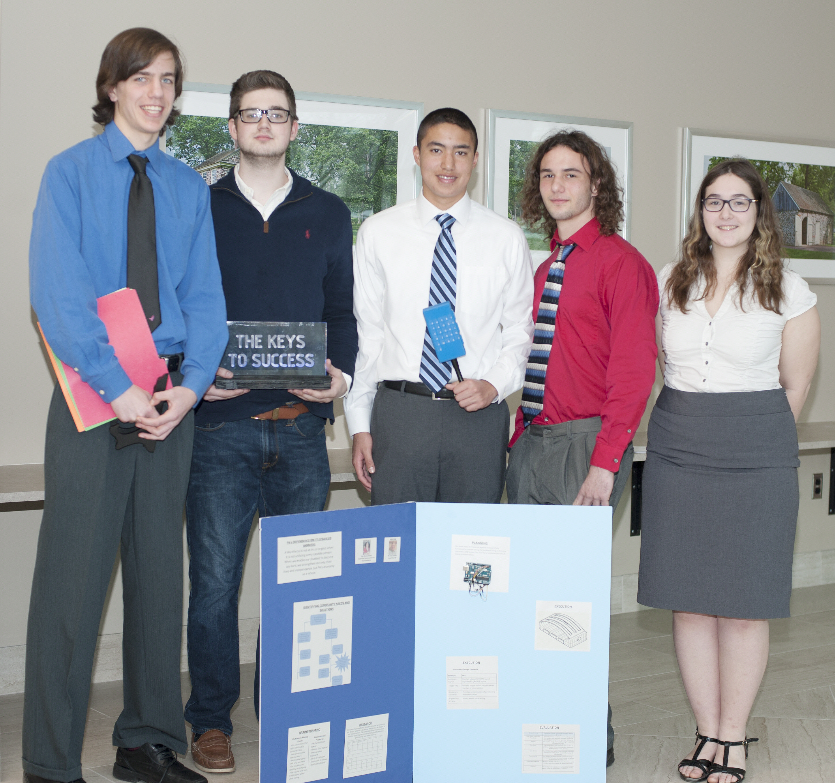 PWHS Students Win Regional STEM Competition